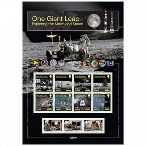 One Giant Leap Commemorative Sheetlet (CTO)