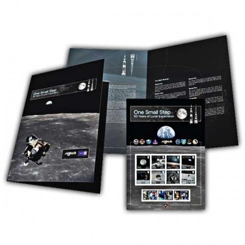 'One Small Step' Commemorative Sheetlet (Mint)