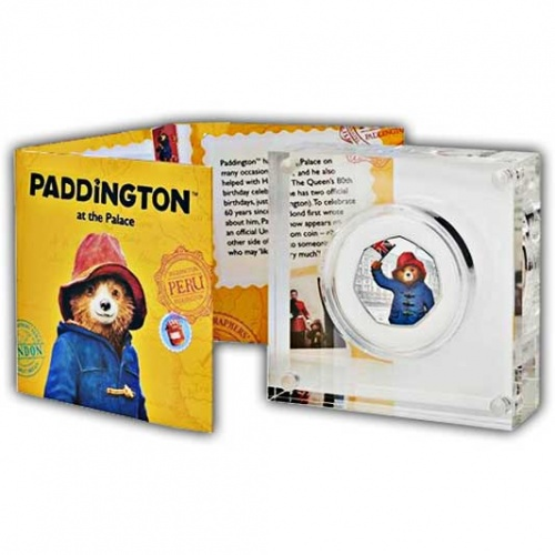 Paddington™ at Buckingham Palace 2018 UK 50p Silver Proof Coin