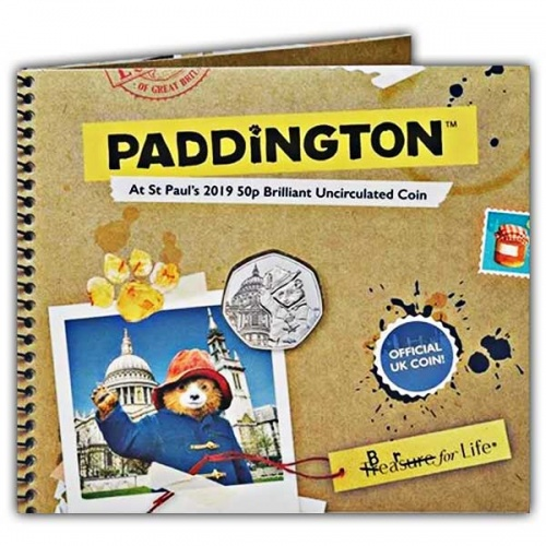 Paddington™ at St Paul's 2019 UK 50p Brilliant Uncirculated Coin