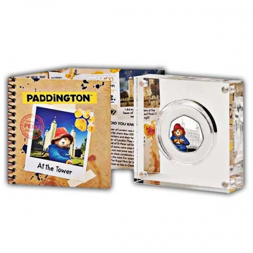 Paddington™ at the Tower 2019 UK 50p Silver Proof Coin