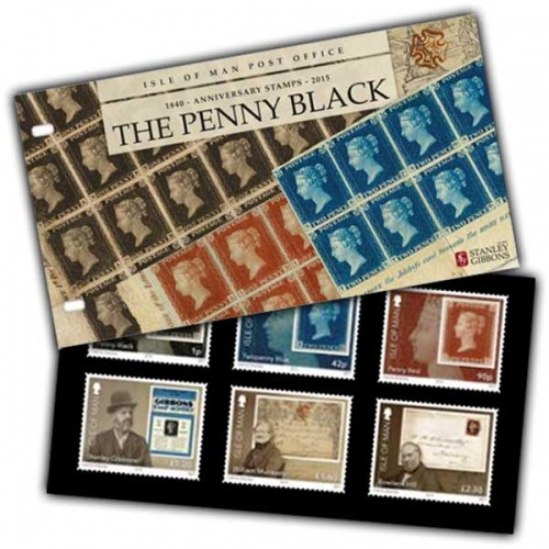 Penny Black and Birth of Stanley Gibbons Presentation Pack