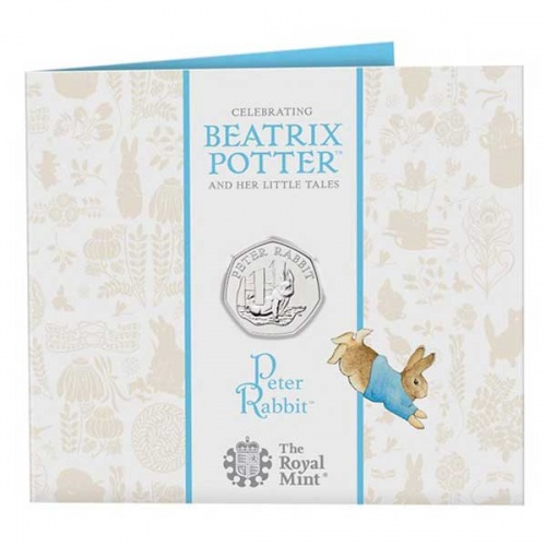 Peter Rabbit 2020 UK 50p Brilliant Uncirculated Coin