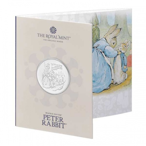 Peter Rabbit™ 2021 UK £5 Brilliant Uncirculated Coin