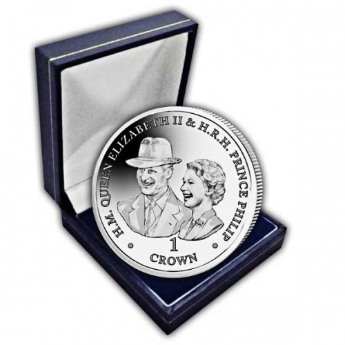 Platinum Wedding Anniversary ''Goodwood Races Portrait'' 2017 Cupro Nickel Coin