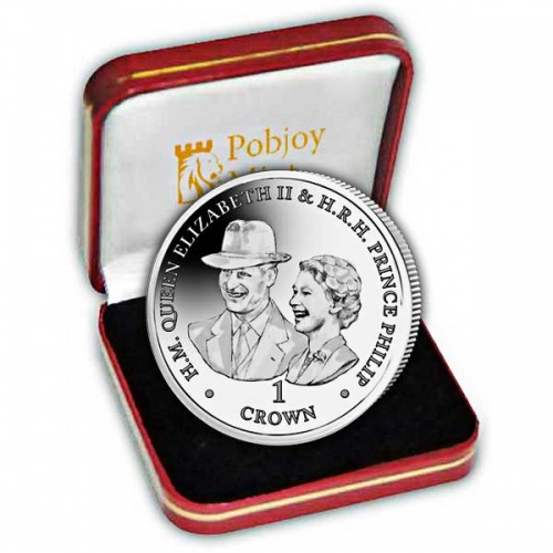 Platinum Wedding Anniversary ''Goodwood Races'' 2017 Silver Coin