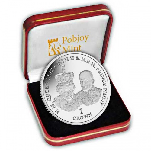 Platinum Wedding Anniversary ''State Opening of Parliament'' 2017 Silver Coin
