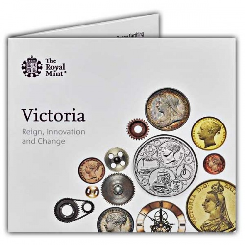 200th Anniversary of the Birth of Queen Victoria 2019 UK £5 Brilliant Uncirculated Coin