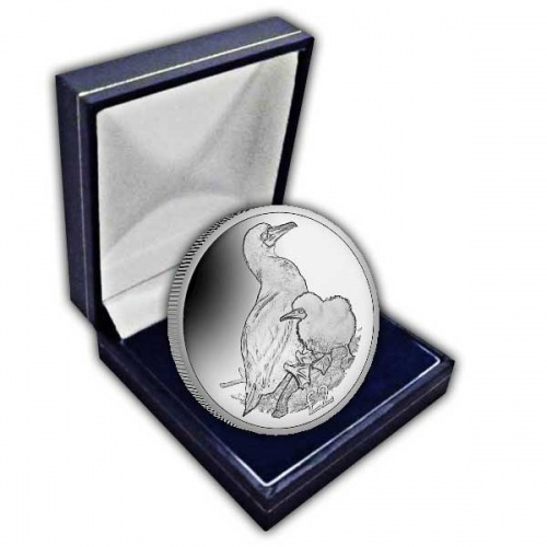 The 2019 Red-Footed Booby Cupro Nickel Coin