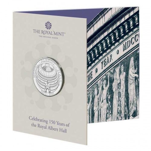 Royal Albert Hall 2021 UK £5 Brilliant Uncirculated Coin