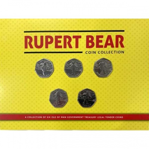 Rupert Bear 100 Years Coin Pack