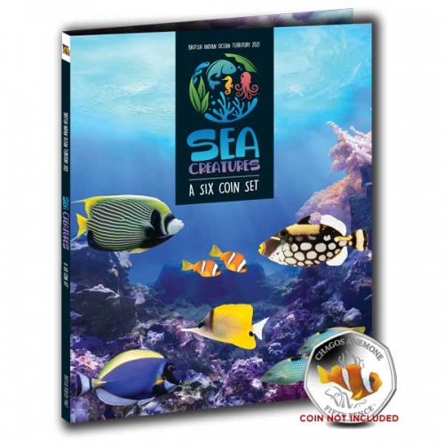 The 2021 Sea Creatures 50p Collectors Album