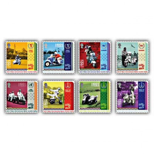 Isle of Man International Scooter Rally Set (Mint)