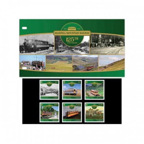 Snaefell Mountain Railway Presentation Pack