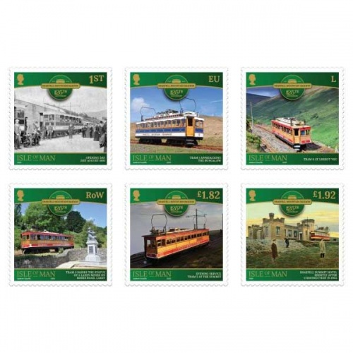 Snaefell Mountain Railway Set (CTO)