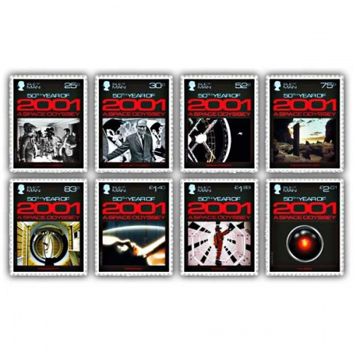 2001: A Space Odyssey Stamp Set (CTO)