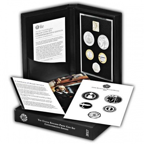 The 2017 United Kingdom Commemorative Proof Coin Set