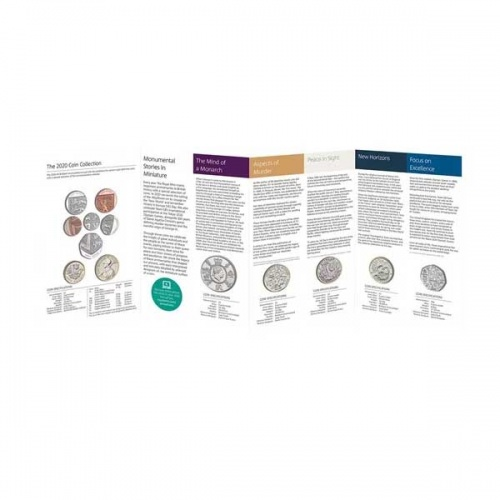 The 2020 United Kingdom Brilliant Uncirculated Annual Coin Set