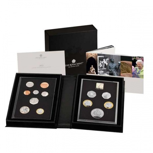The 2021 United Kingdom Proof Coin Set