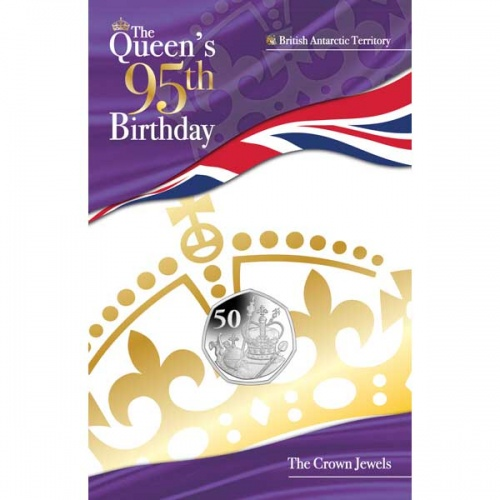 The Queens 95th Birthday The Crown Jewels 2021 Cupro Nickel 50p Coin