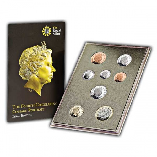 The Fourth Circulating Coinage Portrait Final Editions Proof Set