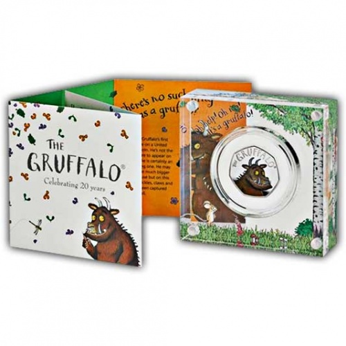 The Gruffalo 2019 UK 50p Silver Proof Coin