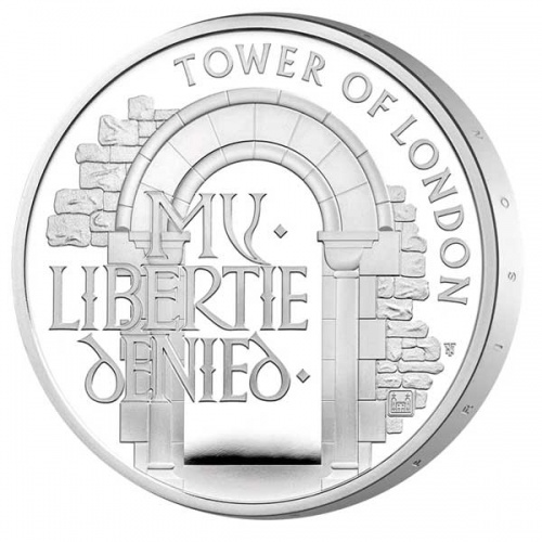 The Infamous Prison 2020 UK £5 Silver Proof Coin