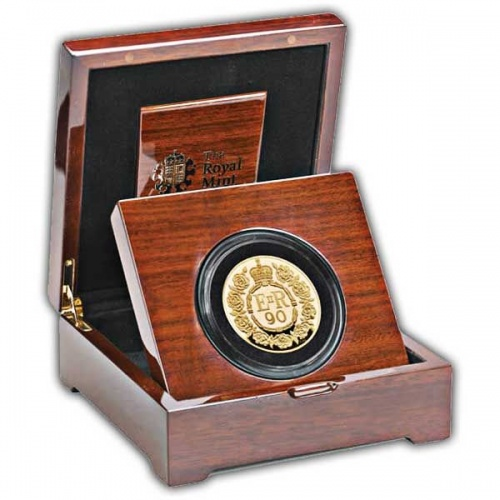 The Queens 90th Birthday 2016 UK Gold Proof Five-Ounce Coin