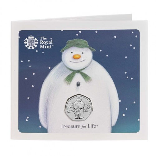 The Snowman™ 2019 UK 50p Brilliant Uncirculated Coin