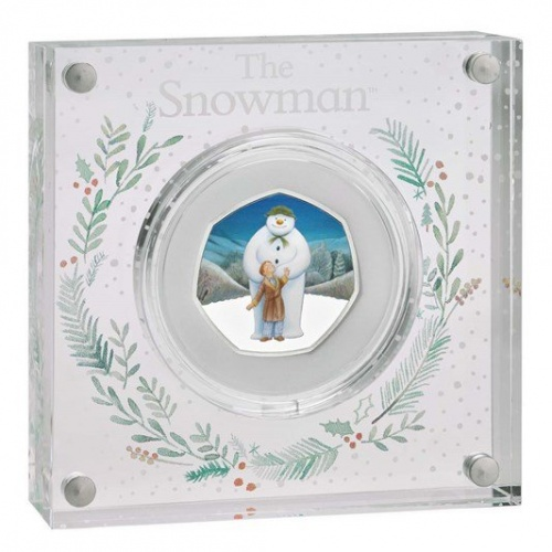 The Snowman™ 2019 UK 50p Silver Proof Coin