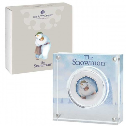 The Snowman 2020 UK 50p Silver Proof Coin