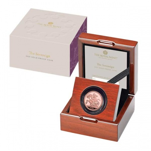 The Sovereign 2021 Gold Proof Coin