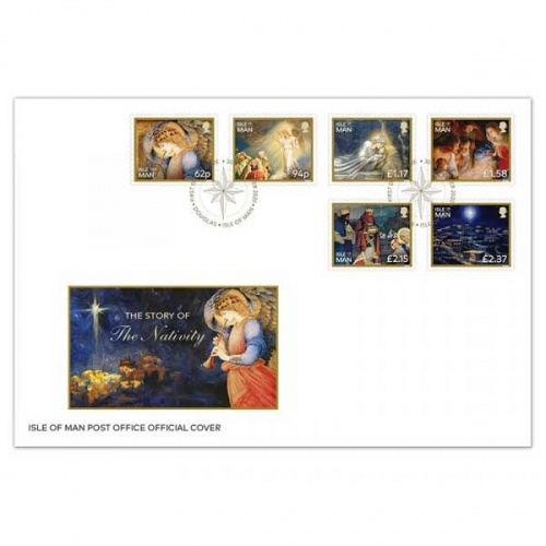 The Story of the Nativity First Day Cover