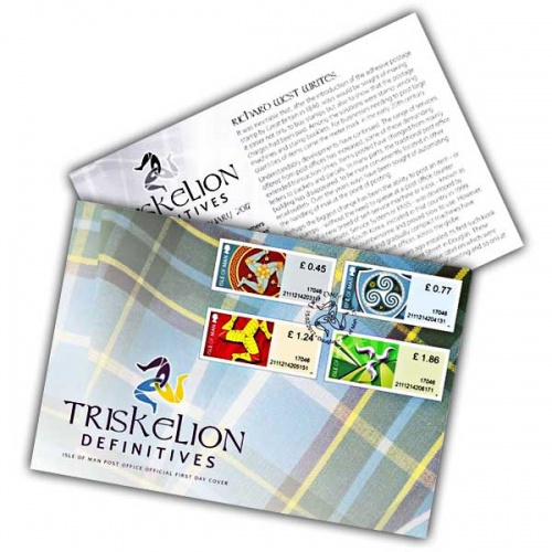 Triskelion Definitives First Day Cover