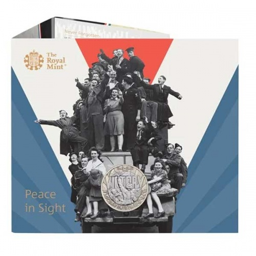 VE Day 2020 UK £2 Brilliant Uncirculated Coin