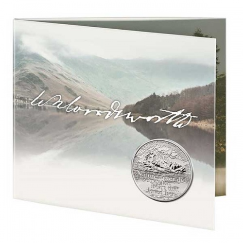 William Wordsworth 2020 £5 Brilliant Uncirculated Coin