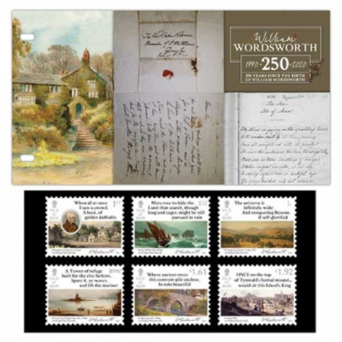 William Wordsworth Presentation Pack
