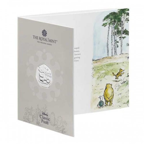 Winnie the Pooh 2020 UK 50p Brilliant Uncirculated Coin