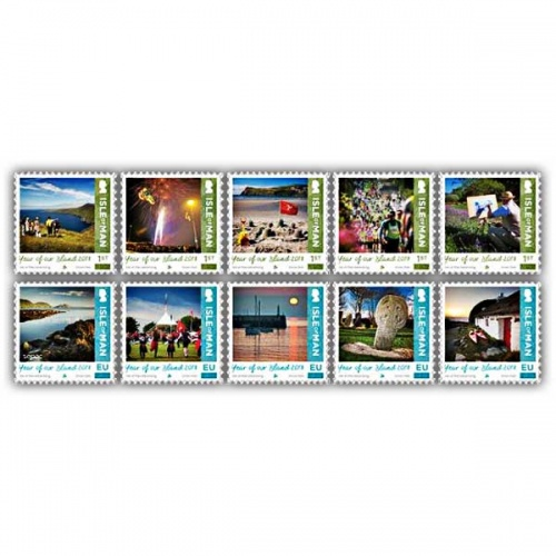 Year of Our Island Stamp Set (CTO)