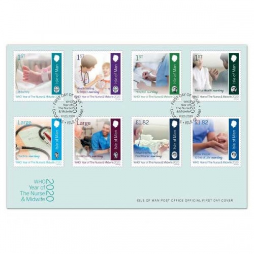 Year of the Nurse and Midwife First Day Cover