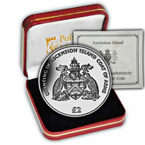 The 2013 Coat of Arms Silver Coin