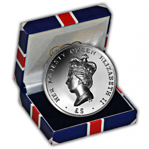 The 2012 High Relief Diamond Jubilee  Coin