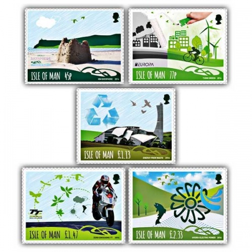 Biosphere Isle of Man Think Green Set (Mint)