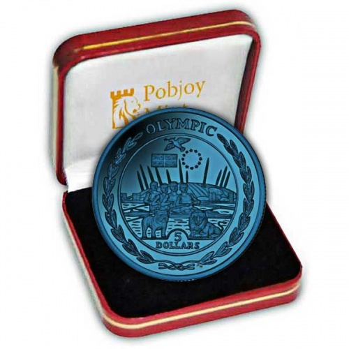 The 2009 Olympic Collection Titanium Europe Coin