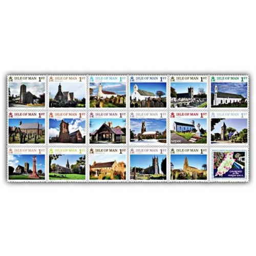 Churches of the Parish Walk Set (Mint)
