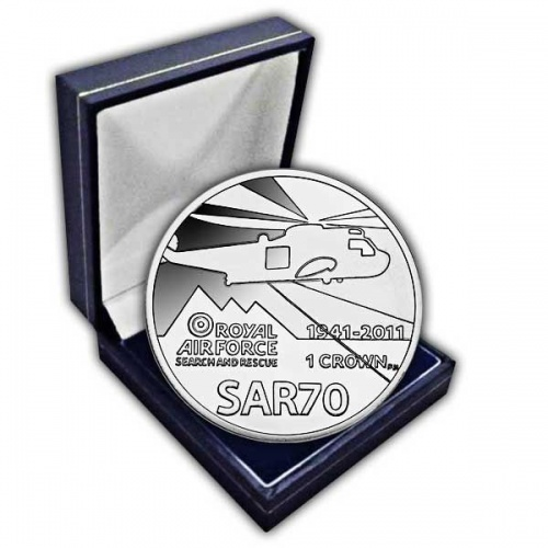 The 2011 70th Anniversary of the RAF Search and Rescue Cupro Nickel Coin