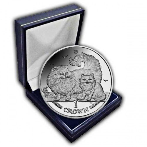 The 2009 Chinchilla Cat Cupro Nickel Coin