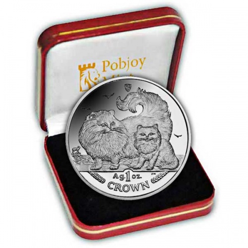 The 2009 Chinchilla Cat Silver Coin