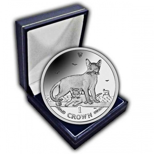 The 2010 Abyssinian Cat Cupro Nickel Coin