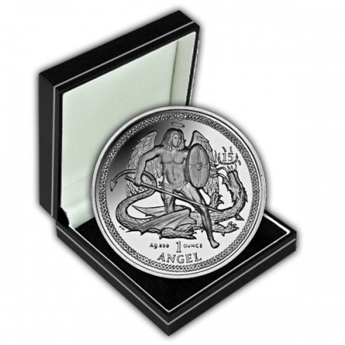 The 2010 High Relief Silver Angel Coin